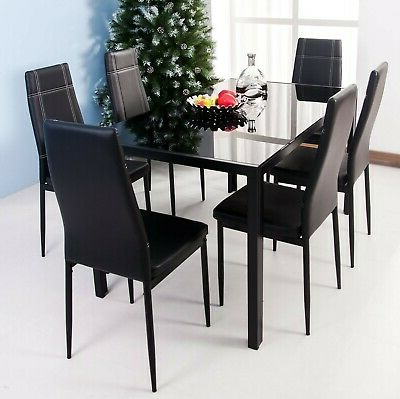 Maynard 5 Piece Dining Sets Pertaining To Latest Merax 5 Piece Dining Table Set High/pub Table Set With 4 Bar Stools (View 8 of 20)
