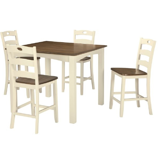Middleport 5 Piece Dining Sets Pertaining To Most Recent Celia 5 Piece Counter Height Dining Setrosalind Wheeler  (View 11 of 20)