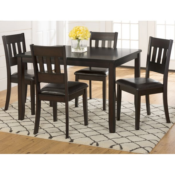 Miskell 5 Piece Dining Sets Regarding Current Miskell 3 Piece Dining Setwinston Porter Read Reviews On (View 11 of 20)
