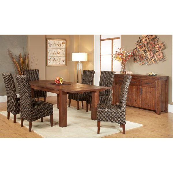 Mitzel 3 Piece Dining Sets Intended For Well Known Gibson 7 Piece Extendable Solid Wood Dining Setloon Peak Savings (View 16 of 20)