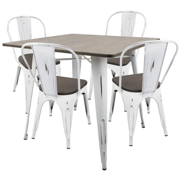 Mitzel 3 Piece Dining Sets Within Recent Gibson 7 Piece Extendable Solid Wood Dining Setloon Peak Savings (View 10 of 20)