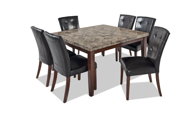 Montibello Dining Room Set At Home Dining Sets Inside Most Up To Date Noyes 5 Piece Dining Sets (Gallery 18 of 20)