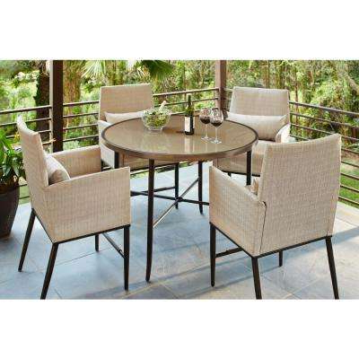 Most Current Dining Chair – Aria – Glass – Patio Dining Sets – Patio Dining Intended For Aria 5 Piece Dining Sets (View 3 of 20)