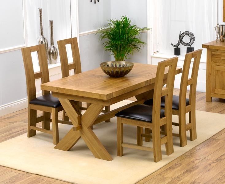 Most Current John 4 Piece Dining Sets Regarding Buy Mark Harris Avignon Oak Extending Dining Table And 4 John Louis (View 20 of 20)