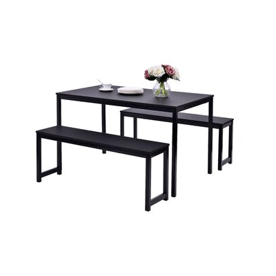 Most Current Partin 3 Piece Dining Sets Throughout Williston Forge Partin 3 Piece Dining Set & Reviews (View 3 of 19)