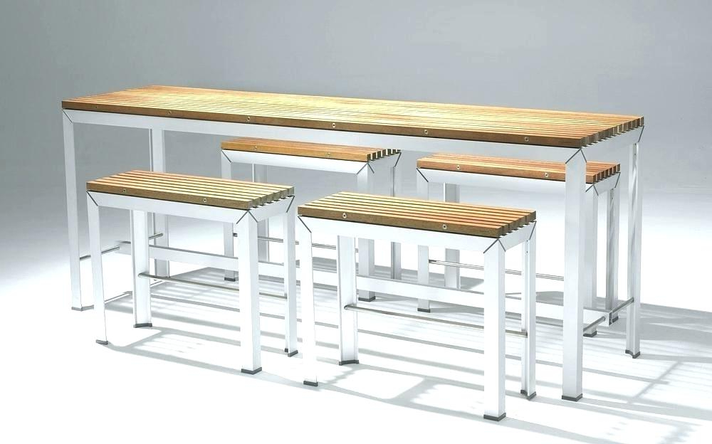 Most Popular Aria 5 Piece Dining Sets Pertaining To Bar Height Patio Dining Bar Height Patio Table New Cheap Patio Bar (View 10 of 20)