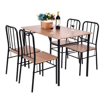 Most Popular Conover 5 Piece Dining Sets Pertaining To Ebern Designs Conover 5 Piece Dining Set (Gallery 1 of 20)