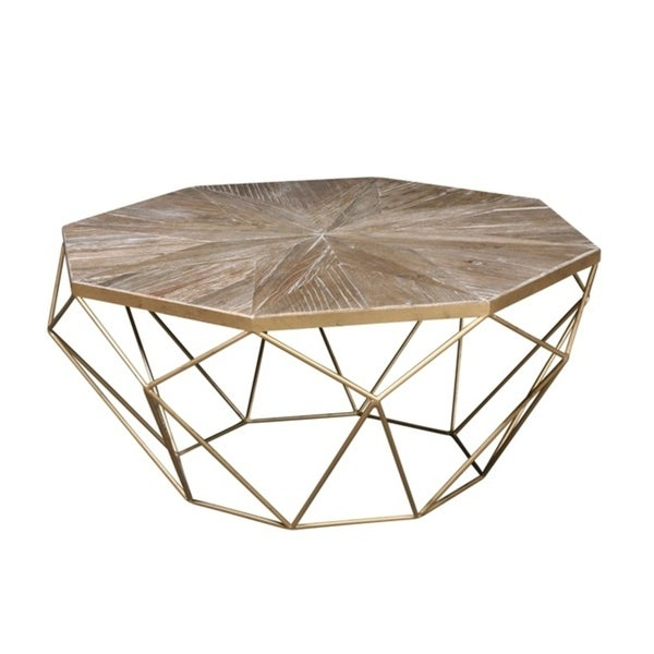 Most Popular Isolde 3 Piece Dining Sets Regarding Shop Isolde Coffee Table – Free Shipping Today – Overstock – (View 13 of 20)
