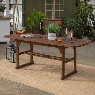 Most Popular Northwoods 3 Piece Dining Sets In Wood – Patio Furniture – Outdoors – The Home Depot (View 18 of 20)