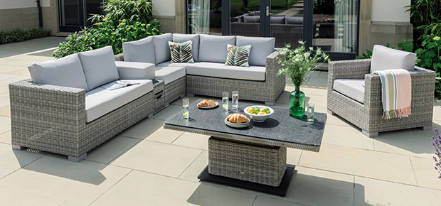 Most Popular Osterman 6 Piece Extendable Dining Sets (Set Of 6) In Life Outdoor Living Furniture (View 6 of 20)