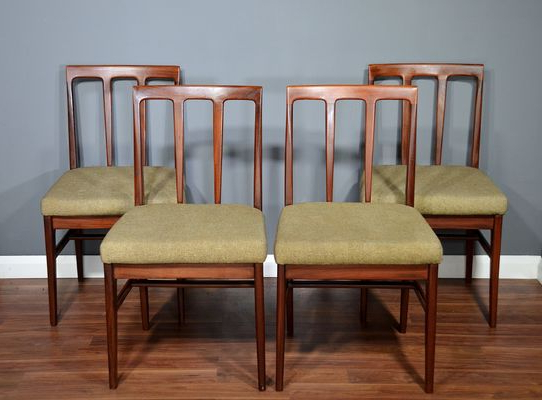 Most Recent John 4 Piece Dining Sets With Mid Century Dining Chairsjohn Herbert For A. Younger Ltd (View 13 of 20)