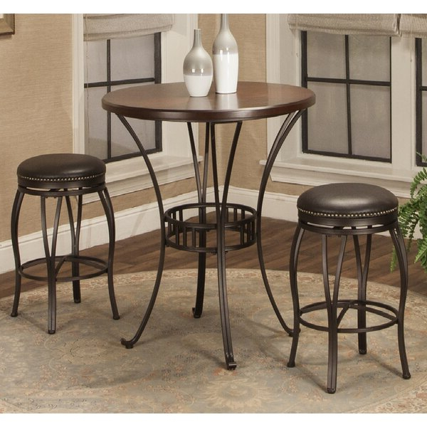 Most Recent Orleans 3 Piece Pub Table Setred Barrel Studio Today Only Sale With Regard To Valladares 3 Piece Pub Table Sets (Gallery 2 of 20)