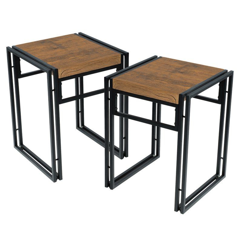 Most Recently Released Debby Small Space 3 Piece Dining Set In  (View 10 of 20)