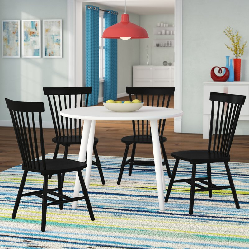 Most Recently Released Garlington 5 Piece Dining Set & Reviews (View 12 of 20)