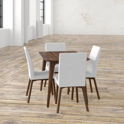 "Most Recently Released Liles 5 Piece Breakfast Nook Dining Sets Regarding Lemington 7 Piece 62.99"" Solid Wood Dining Set With 6 Dining Chairs (Gallery 17 of 20)"