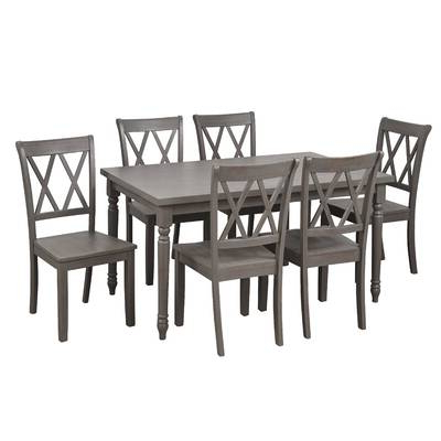 Most Recently Released Red Barrel Studio Osterman 6 Piece Extendable Dining Set (View 7 of 20)