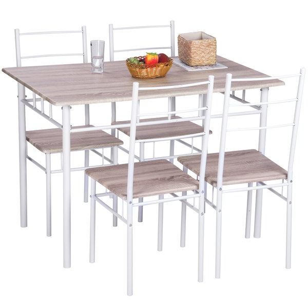 Most Up To Date Emmeline 5 Piece Breakfast Nook Dining Sets Intended For 5 Piece Breakfast Nook Dining Set (View 11 of 20)