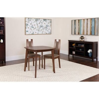Most Up To Date Ephraim 5 Piece Dining Sets Throughout Ebern Designs Ephraim 3 Piece Solid Wood Dining Set (View 4 of 20)