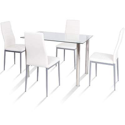 Most Up To Date Lamotte 5 Piece Dining Sets In Ebern Designs Lamotte 5 Piece Dining Set (View 8 of 20)