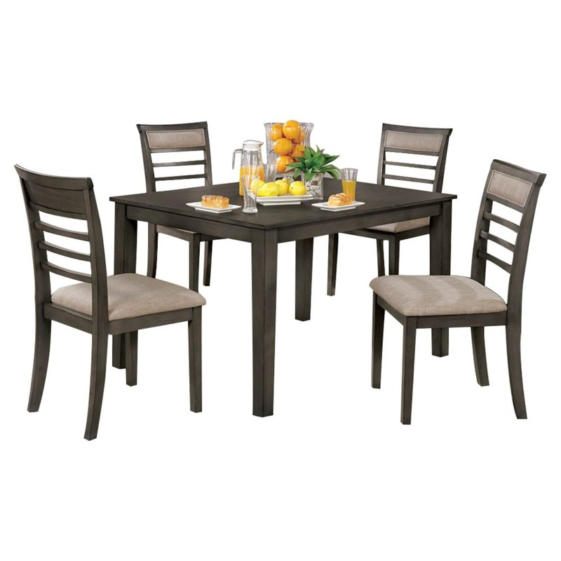 Most Up To Date Red Barrel Studio Hanska Wooden 5 Piece Counter Height Dining Table Throughout Hanska Wooden 5 Piece Counter Height Dining Table Sets (set Of 5) (View 2 of 20)