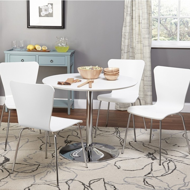 Newest Dining Tables For Small Spaces – Small Spaces – Lonny In Taulbee 5 Piece Dining Sets (Gallery 5 of 20)