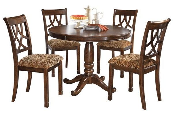 Newest Kaelin 5 Piece Dining Sets Throughout Cedar Creek Dining Set (View 16 of 20)