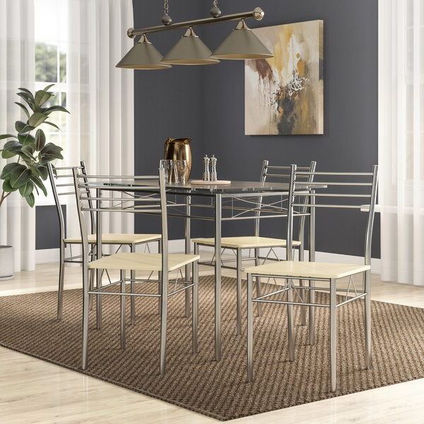 North Reading 5 Piece Dining Table Sets With Widely Used North Reading 5 Piece Dining Table Set (Gallery 1 of 20)