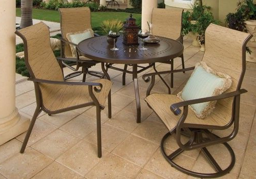 Outdoor Furniture Sets, Outdoor Dining (View 8 of 20)