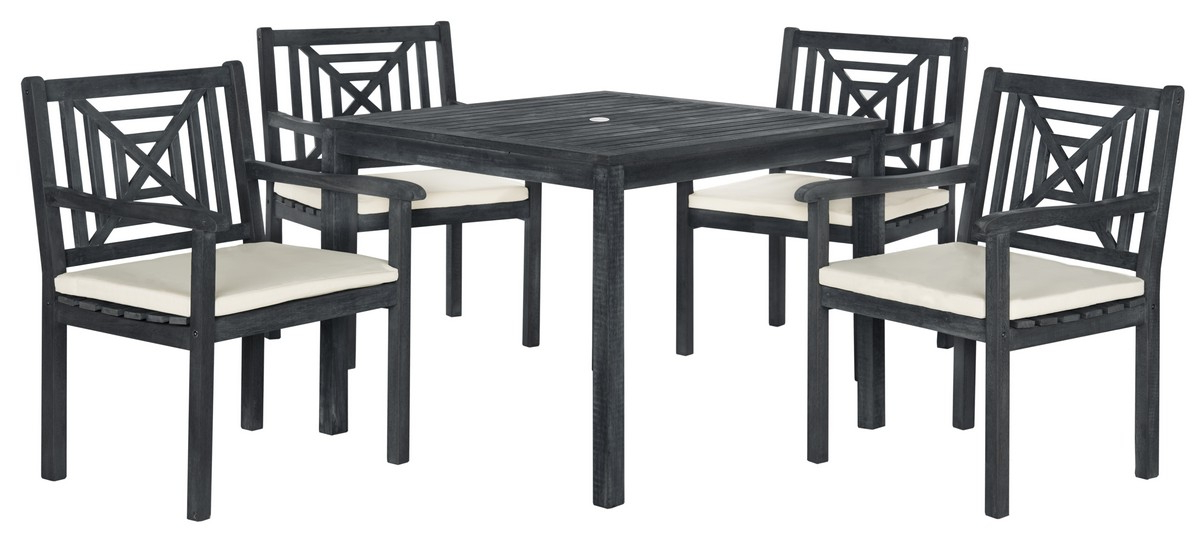 Pat6722K Patio Sets – 5 Piece Outdoor Dining Sets – Furniture With Well Known Delmar 5 Piece Dining Sets (Gallery 2 of 20)