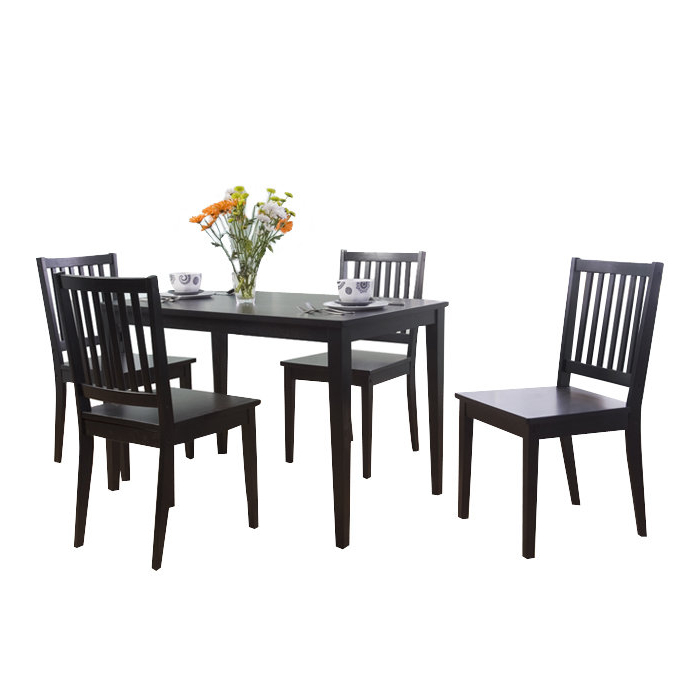 Pattonsburg 5 Piece Dining Sets Intended For Most Recently Released Barryknoll 5 Piece Dining Set & Reviews (Gallery 3 of 20)
