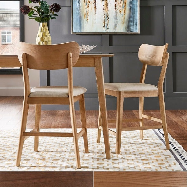Penelope 3 Piece Counter Height Wood Dining Sets With Regard To Most Current Shop Penelope Danish Modern Tapered Leg Counter Height Chair (Set Of (Gallery 6 of 20)
