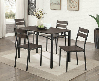 Picclick With Regard To Emmeline 5 Piece Breakfast Nook Dining Sets (View 10 of 20)