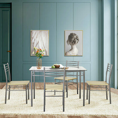 Picclick With Regard To Most Recently Released Ganya 5 Piece Dining Sets (View 12 of 20)