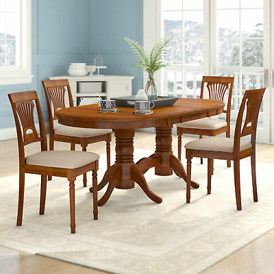Picclick With Regard To Yedinak 5 Piece Solid Wood Dining Sets (View 6 of 20)