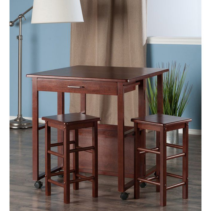 Pinterest With Regard To Trendy Crownover 3 Piece Bar Table Sets (View 5 of 20)