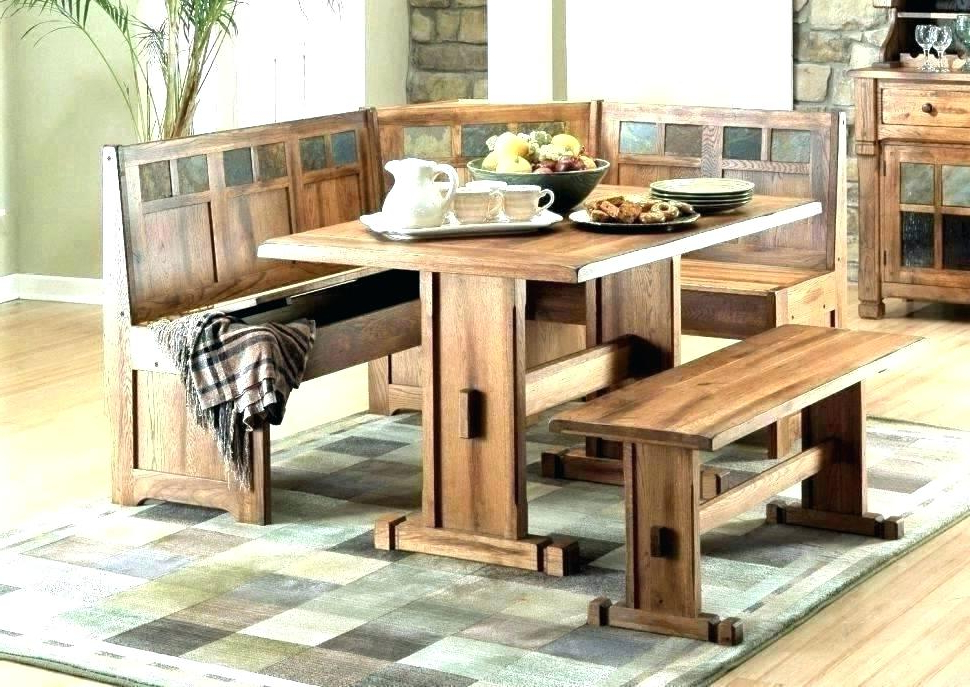 Popular Denzel 5 Piece Counter Height Breakfast Nook Dining Sets For Counter Height Nook Set – Gtres.co (Gallery 18 of 20)