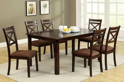 Pratiksha Sonoma 5 Piece Dining Sets In Best And Newest Carriage Hill 7 Piece Extendable Dining Set (View 17 of 20)