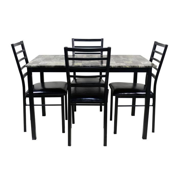 Preferred Mukai 5 Piece Dining Sets With Regard To Winston Porter Mukai 5 Piece Dining Set (Gallery 2 of 20)