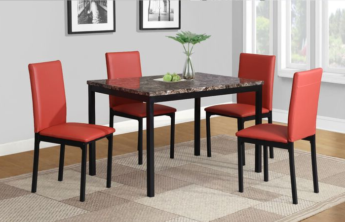 Preferred Noyes 5 Piece Dining Sets In Dining Table Sets Noyes 5 Piece Dining Set February  (View 13 of 20)