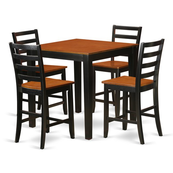 Presson 3 Piece Counter Height Dining Sets In Most Current 5 Piece Counter Height Pub Table Setwooden Importers Comparison (View 5 of 20)