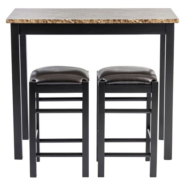 Presson 3 Piece Counter Height Dining Sets With Regard To Popular 5 Piece Counter Height Pub Table Setwooden Importers Comparison (View 3 of 20)