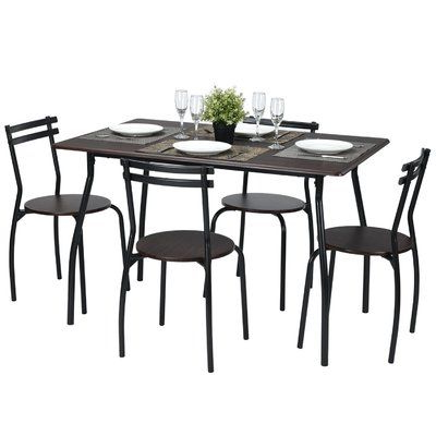 Featured Photo of Tarleton 5 Piece Dining Sets