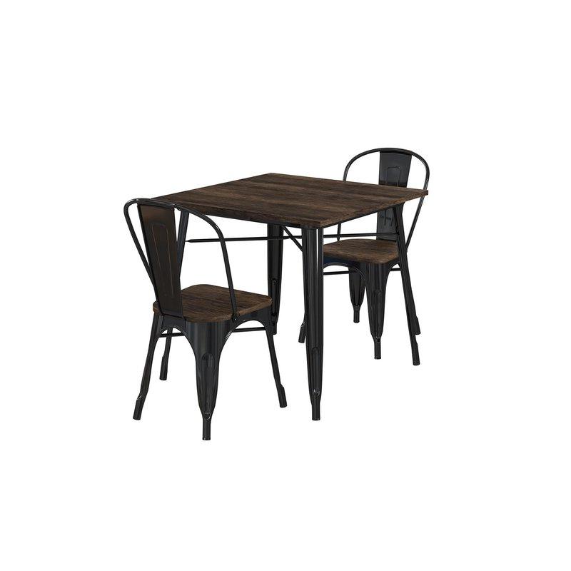 Pullman 3 Piece Dining Set & Reviews (Gallery 16 of 20)