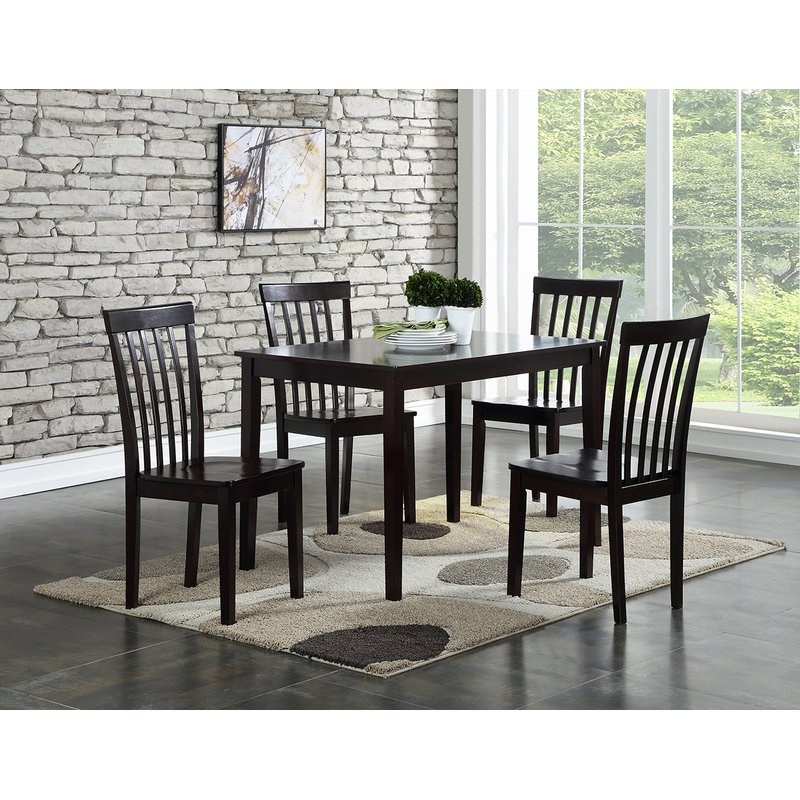 Ralls 5 Piece Dining Set & Reviews (Gallery 15 of 20)