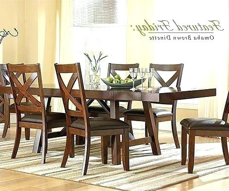 Recent 5 Piece Dinette With Cherry Finished Wood American Freight American Within Cargo 5 Piece Dining Sets (Gallery 18 of 20)