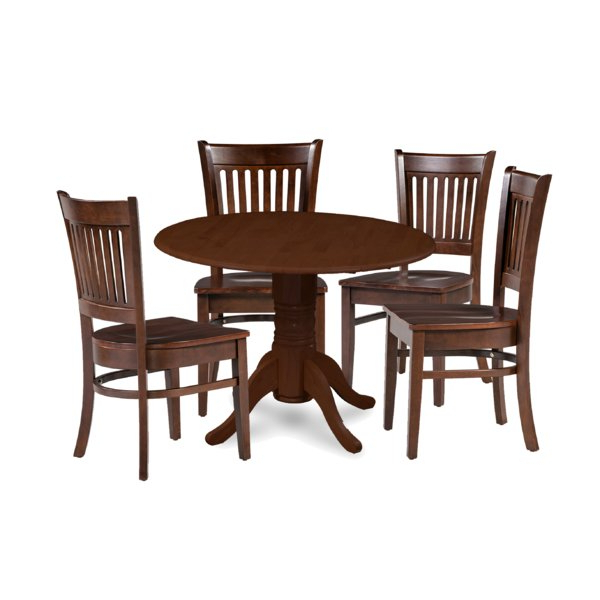 Recent Best Price Miriam Solid Wood 5 Piece Drop Leaf Dining Set In Lamotte 5 Piece Dining Sets (View 16 of 20)