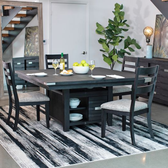 Recent Falmer 3 Piece Solid Wood Dining Sets In Formal & Casual Dining Room Furniture Sets (View 5 of 20)