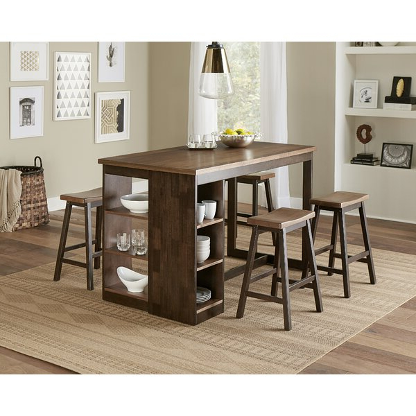 Recent Fresh Cedar Creek 5 Piece Dining Setthree Posts Discount For Honoria 3 Piece Dining Sets (View 10 of 20)