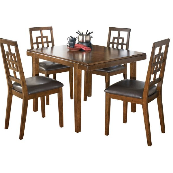 Recent Marengo 5 Piece Dining Setcanora Grey Herry Up On (View 14 of 20)