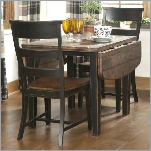 Recent Small 3 Piece Dining Set 3 Piece Dining Table Set Plus Small 3 Piece For Debby Small Space 3 Piece Dining Sets (View 7 of 20)